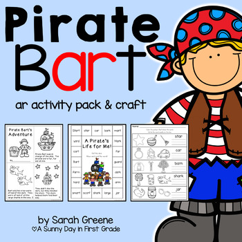 Pirate Bart {ar activities & craft!}