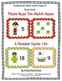 Pirates Math - Base Ten Match and Number Cards