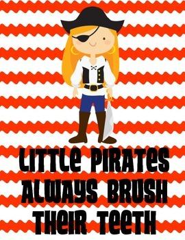 Pirate Bathroom Rules