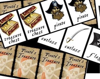 Pirate Battle Ship, Creative Writing, Map Making, Matching