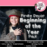 Pirate Beginning of the Year Decor Pack