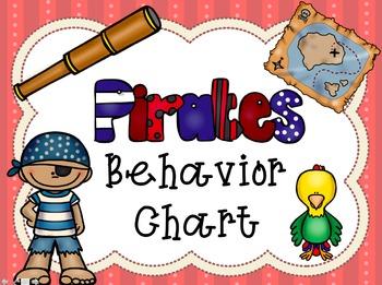 Pirate Behavior Chart