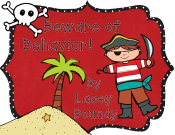 Pirate Behavior Chart That Really Works! My Kiddos Love it!