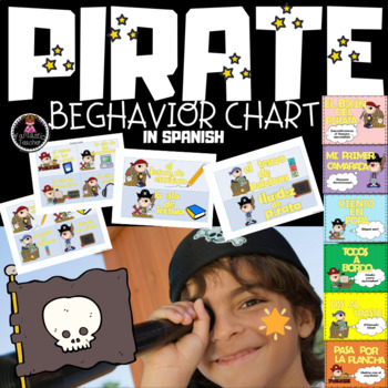 Pirate Behavior Chart in Spanish