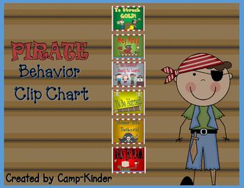 Pirate Behavior Clip Chart