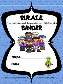 Pirate Binder Cover
