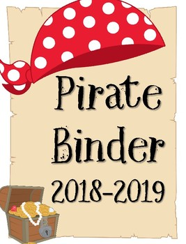 Pirate Binder for Teachers