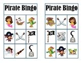 Pirate Bingo Cards