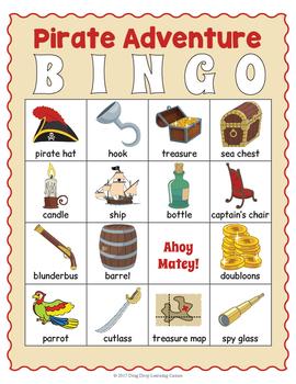 Pirate Bingo - Pirate Game