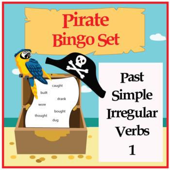 Pirate Bingo - Irregular Verbs in Past Simple 1