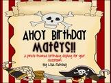 Pirate Birthday Display