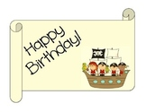 Pirate Birthday Set