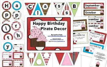 Pirate Birthday Tags