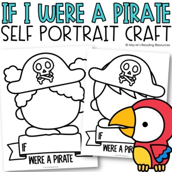 Pirate Blank Face Self-Portraits