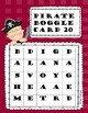 Pirate Boggle ~ Literacy Centers
