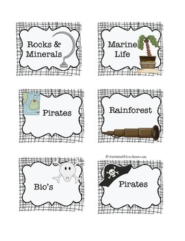 Pirate Book Boxes 1