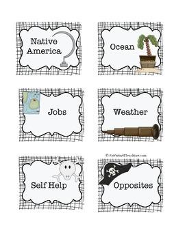 Pirate Book Boxes 2