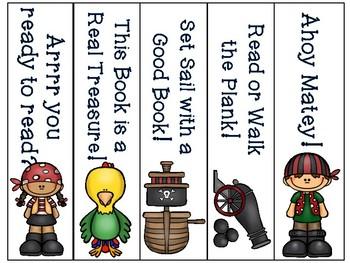 Pirate Bookmarks