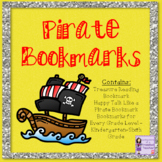 Pirate Bookmarks (Beginning of the School Year/Talk Like a