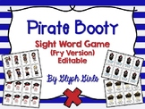 Pirate Booty Sight Word Game (Fry Version)