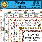 Pirate Borders Clip Art