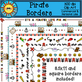 Pirate Borders Clip Art