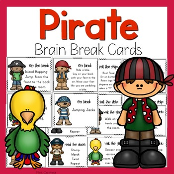 Brain Breaks - Pirate Theme