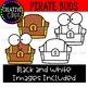 Pirate Buds {Pirate Clipart}