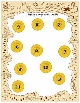 Pirate Bump  Math Game
