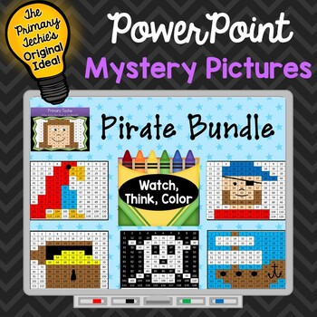 Pirate Bundle Watch, Think, Color Games - EXPANDING BUNDLE
