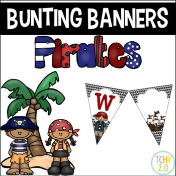 Bunting Banners Pirates