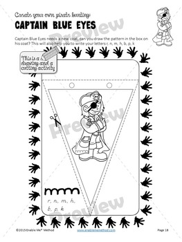 Early Years Cursive Handwriting Worksheets for 5 - 7 years: Pirates