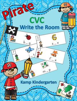 Pirate CVC Write the Room