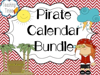 Pirate Calendar Bundle