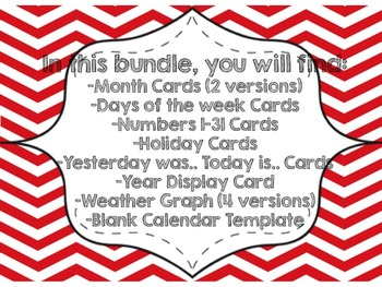 Pirate Calendar Extras Bundle