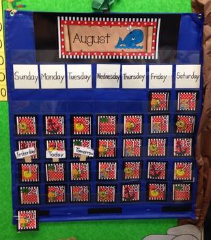 Pirate Calendar Pack