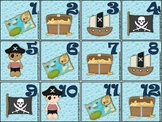 Pirate Calendar Set