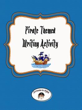 Pirate Captain Descripive Writing Activity Sheet