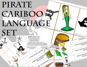 Pirate Cariboo Language Set
