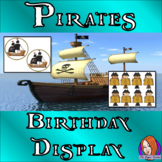 Pirate Classroom Birthday Display