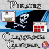 Pirate Classroom Calendar Display