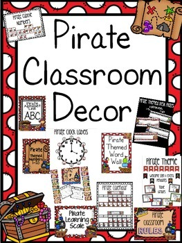 Pirate Classroom Decor