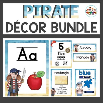 Pirate Theme Class Decor