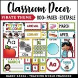 Pirate Classroom Decor