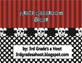 Pirate Classroom Decor Pack
