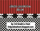 Pirate Classroom Decor Pack