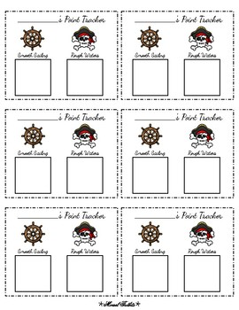 Pirate Classroom Documents