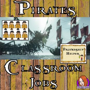 Pirate Classroom Jobs Display