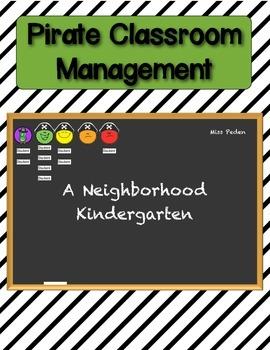 Pirate Classroom Management and Behavior Chart