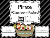 Pirate Classroom Packet
